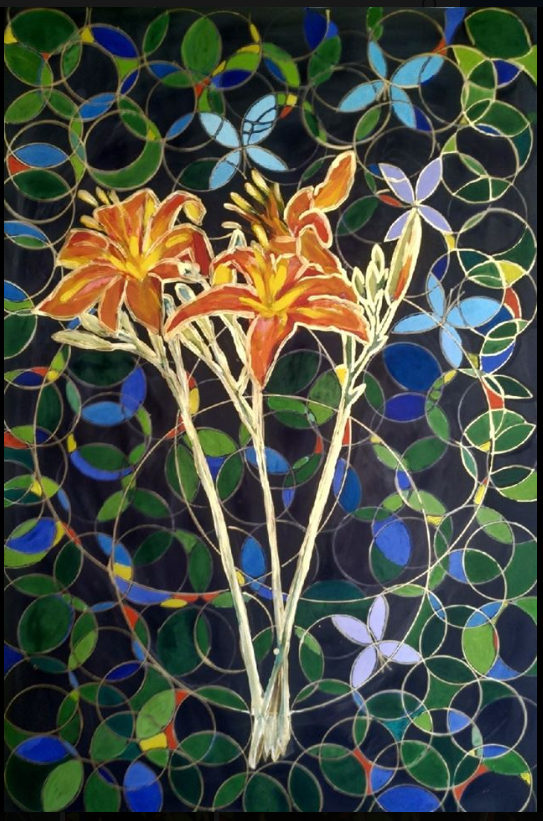 Lilia Georgievna Evsyukova. Golden lilies