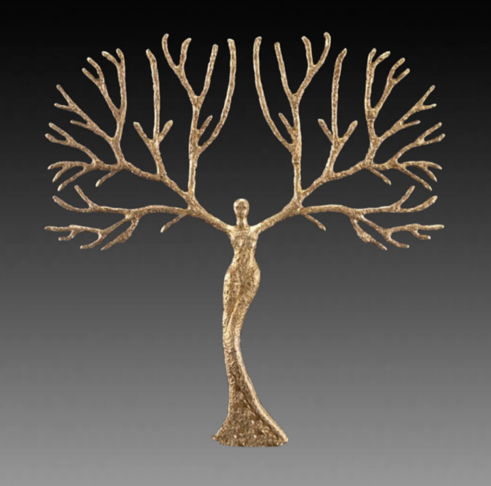 """(no name). Sculpture """"Tree of Life"""""""