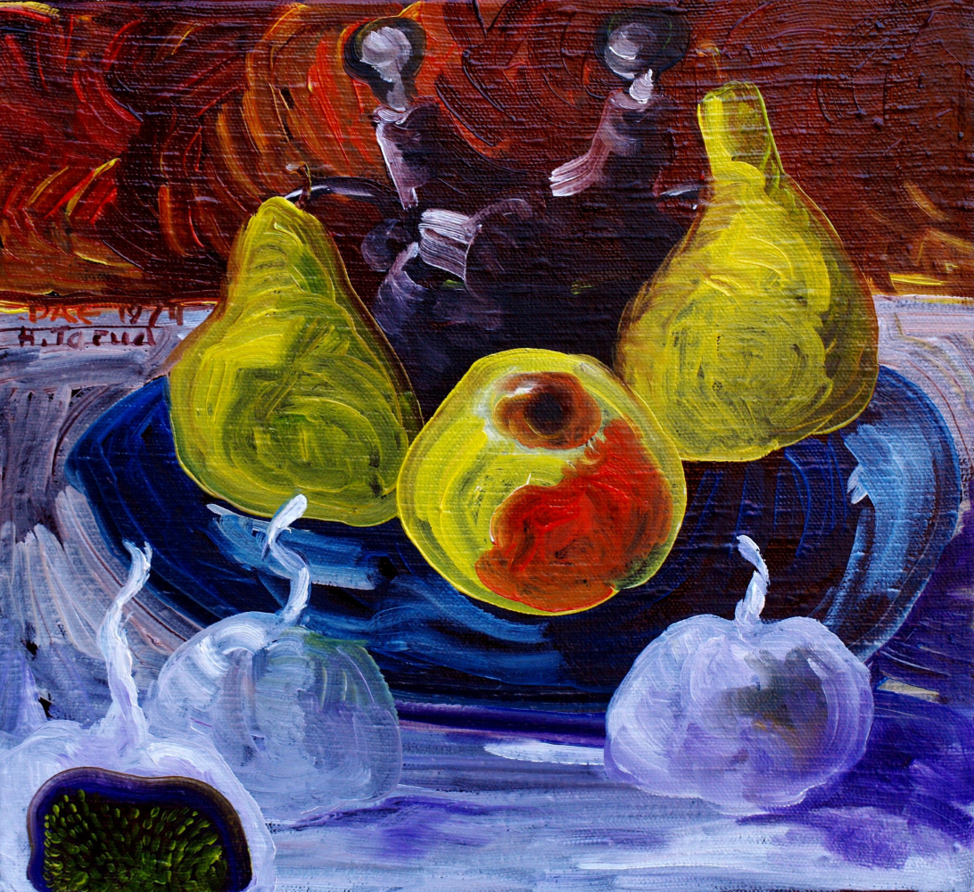 Alexander Ocher Kandinsky-DAE. Fruit on the table