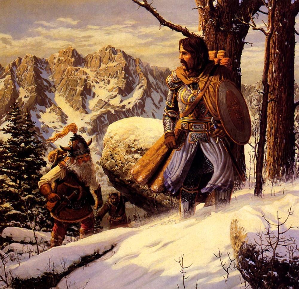Кит Паркинсон. Снежный день