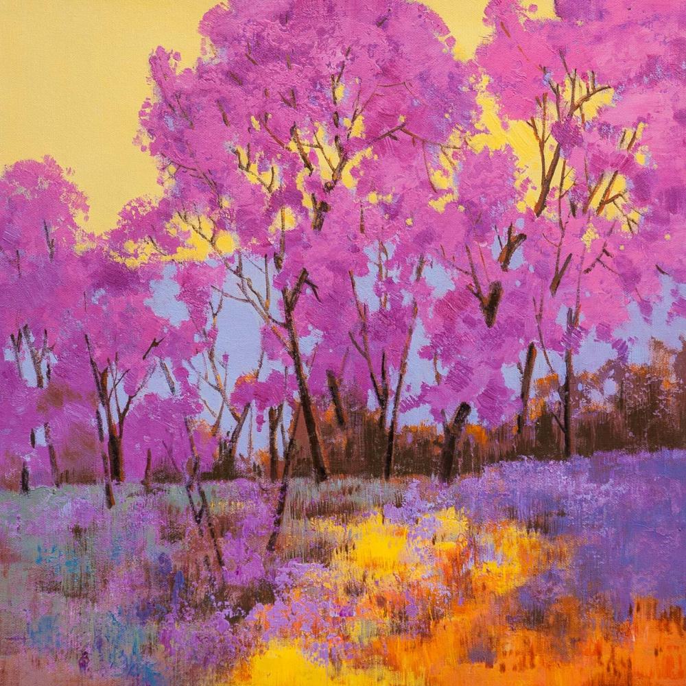 (no name). Весенние деревья