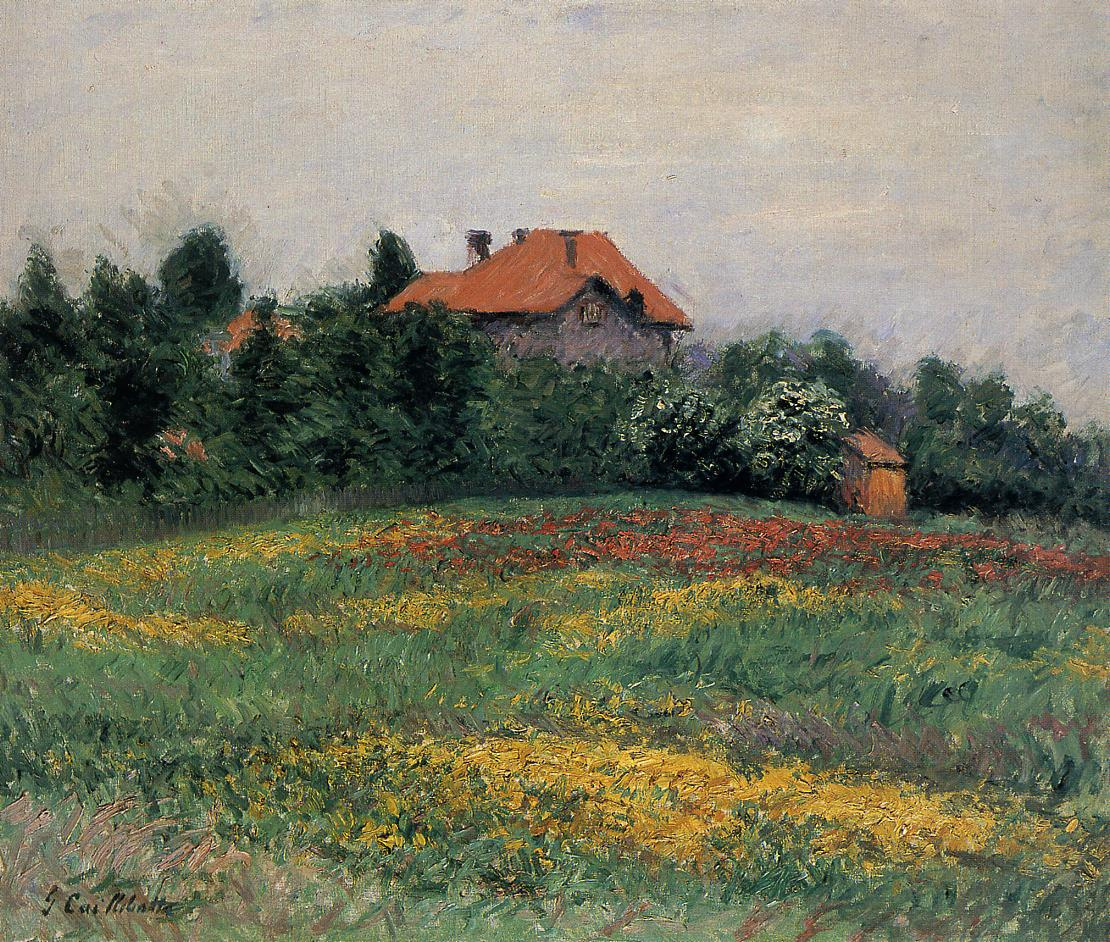 Gustave Caillebotte. Normandy landscape