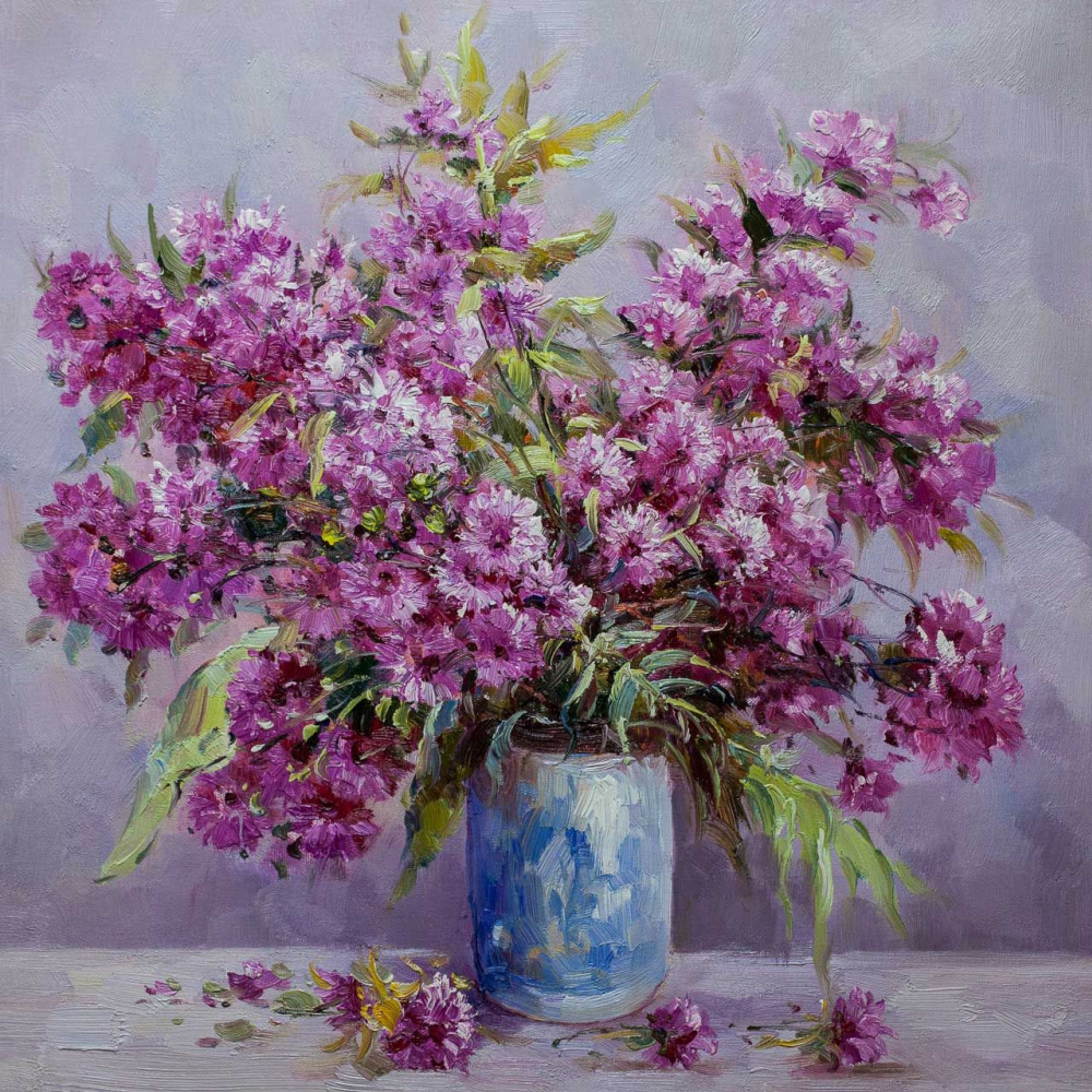 Andrzej Vlodarczyk. Bouquet of autumn asters
