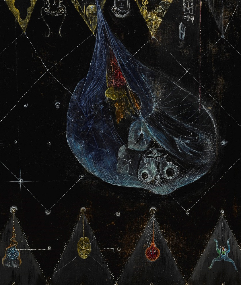 Leonora Carrington. Dark night in Arena. Fragment II