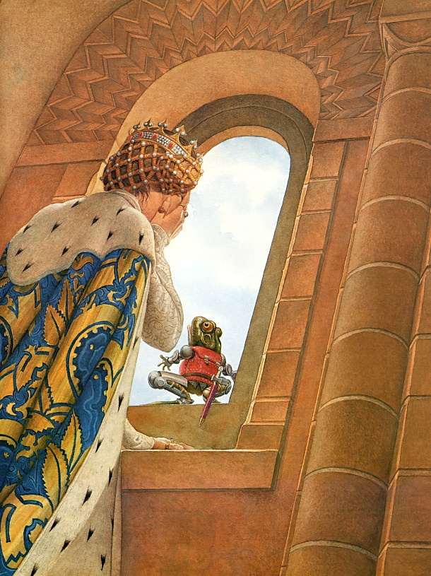 Чарльз Сантор. Принцесса и жаба