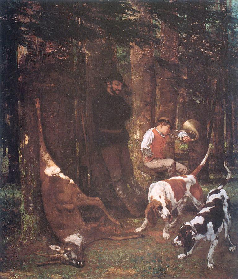 Gustave Courbet. Quarry