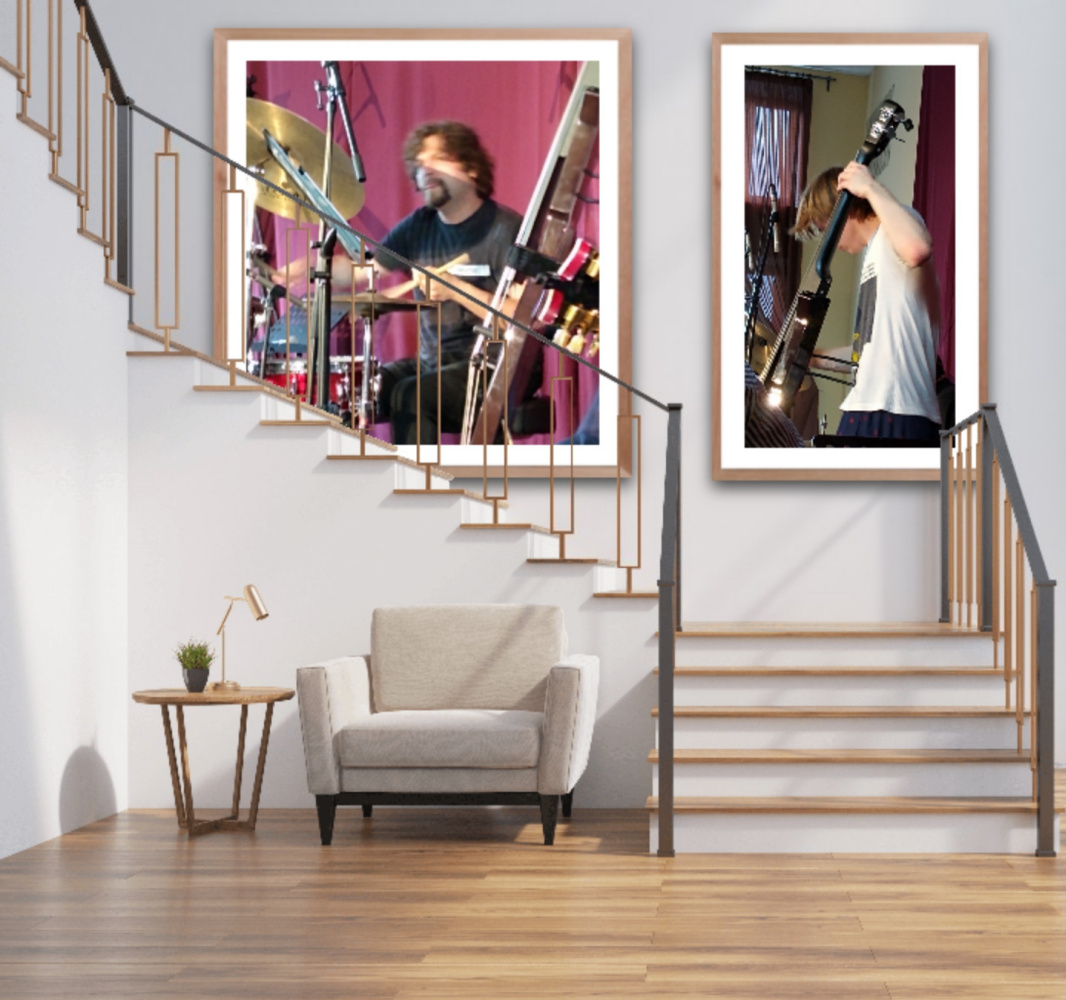 Natalya Garber. The light of music. A couple of works for a concert hall, conservatory or other creative space