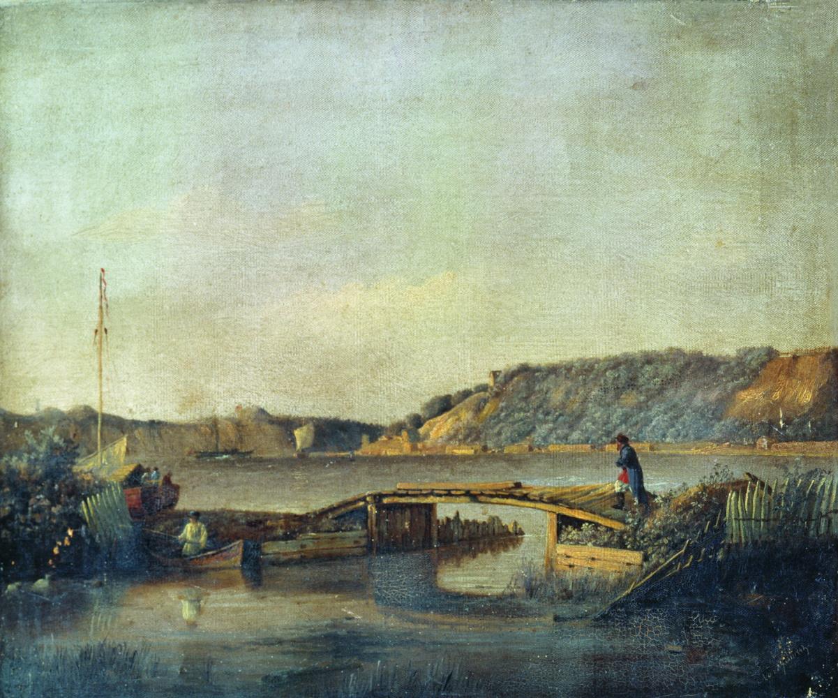 Lev Feliksovich Lagorio. View of the river