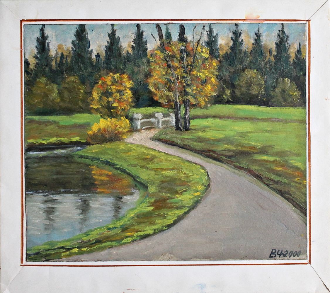 Victor Andreevich Chepurko. At the Big Pond