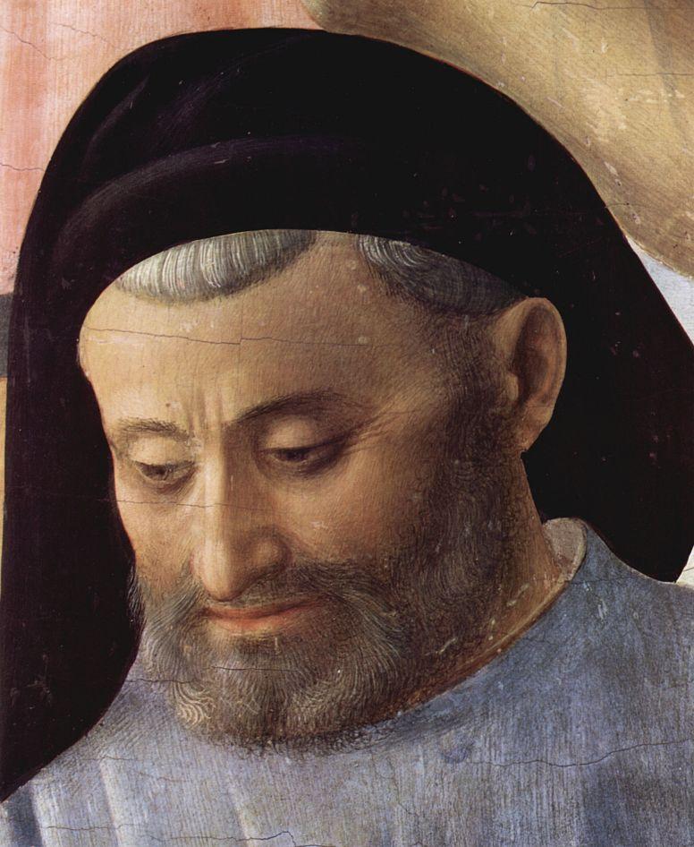 Фра Беато Анджелико. Снятие с креста, деталь