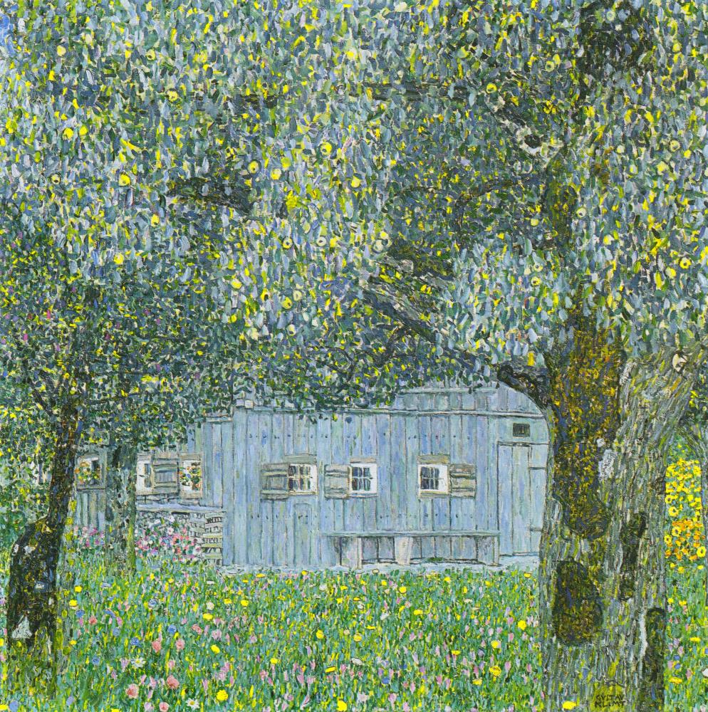 Gustav Klimt. Farmhouse in Upper Austria