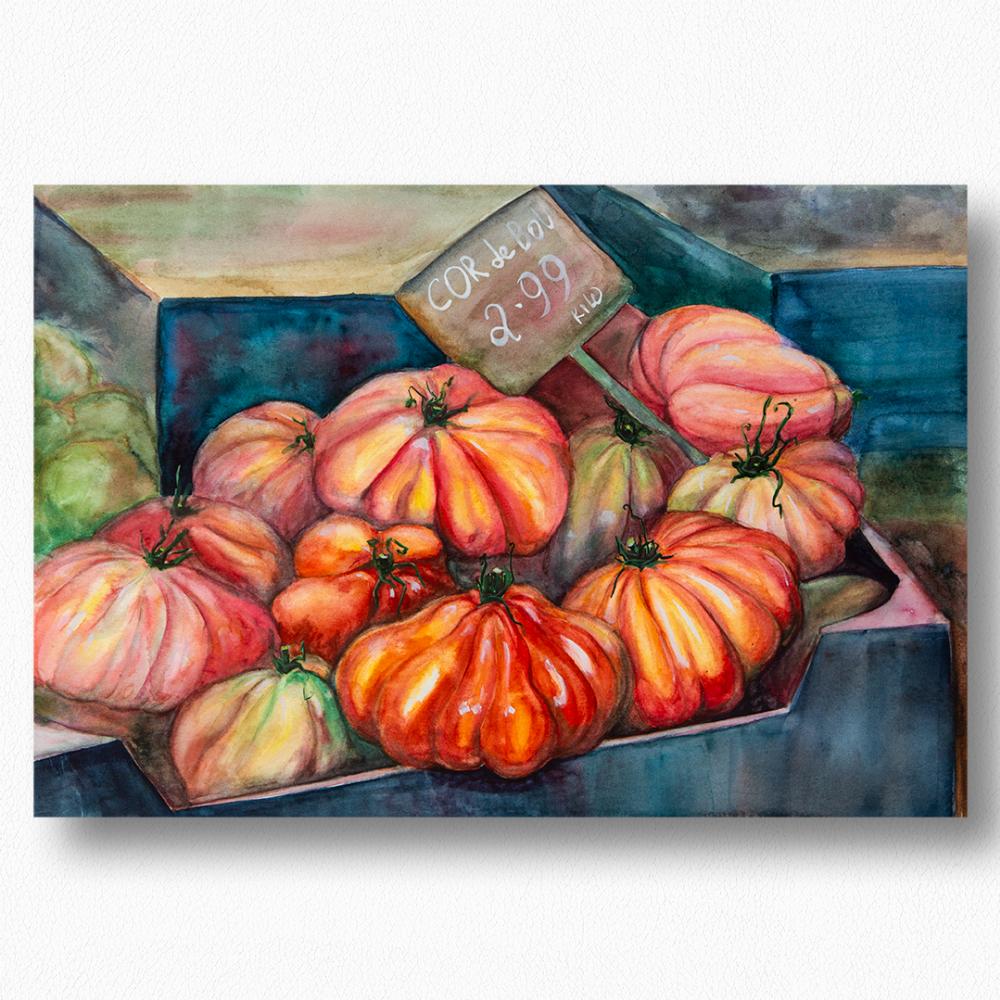 Olga Deikova. Take a tomato!