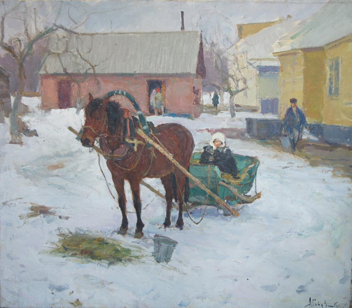 Albin Stanislavovich Gavdzinsky. Sednev.