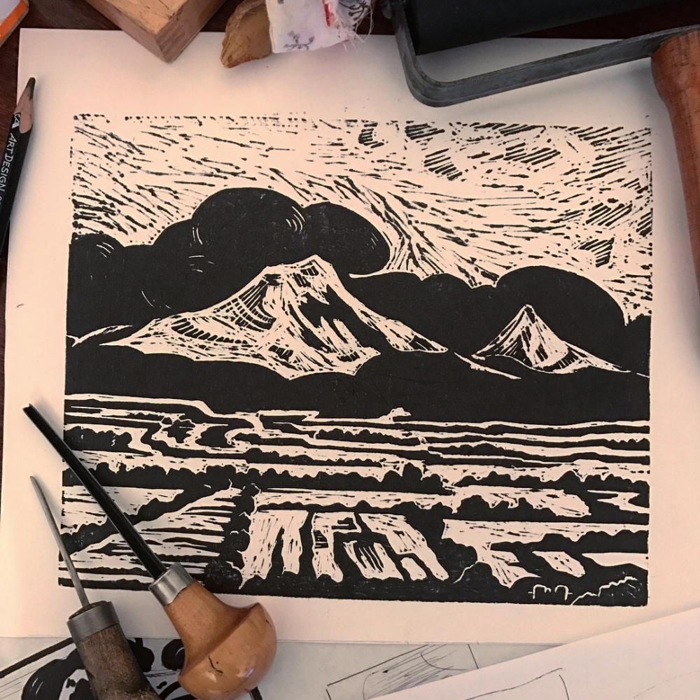 David Baghdasaryan. Ararat with a mystery