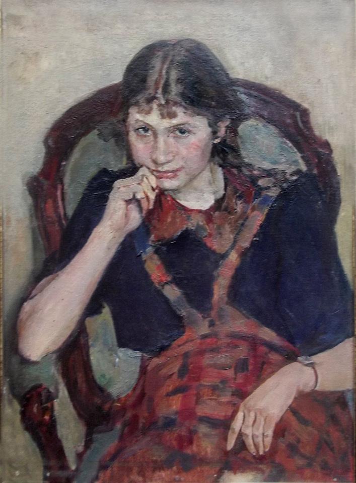 Sergey Leonidovich Ascension. Tanyusha (portrait of daughter)