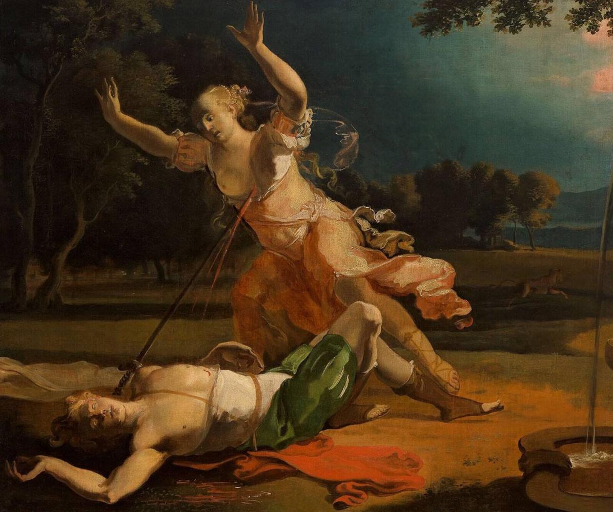 Abraham Hondius. Piram and Fisba