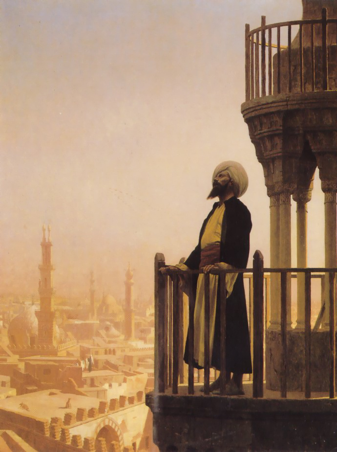 Жан-Леон Жером. Призыв к молитве