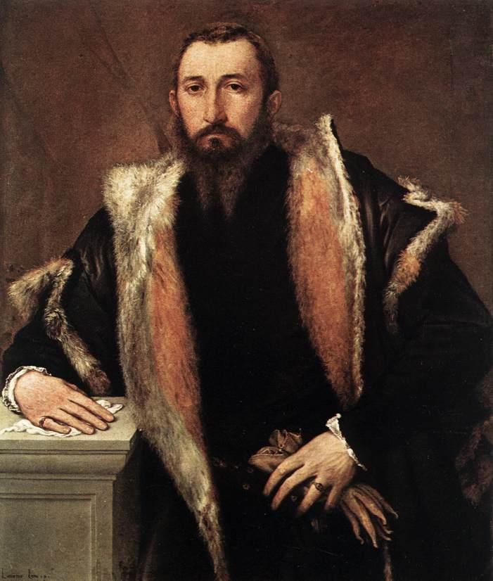 Lorenzo Lotto. Plot 1