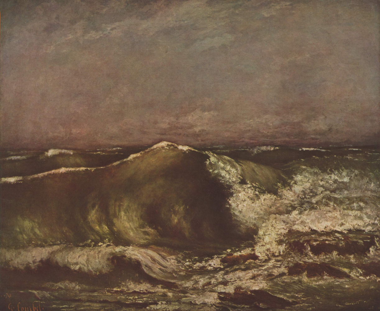 Gustave Courbet. Marine shaft