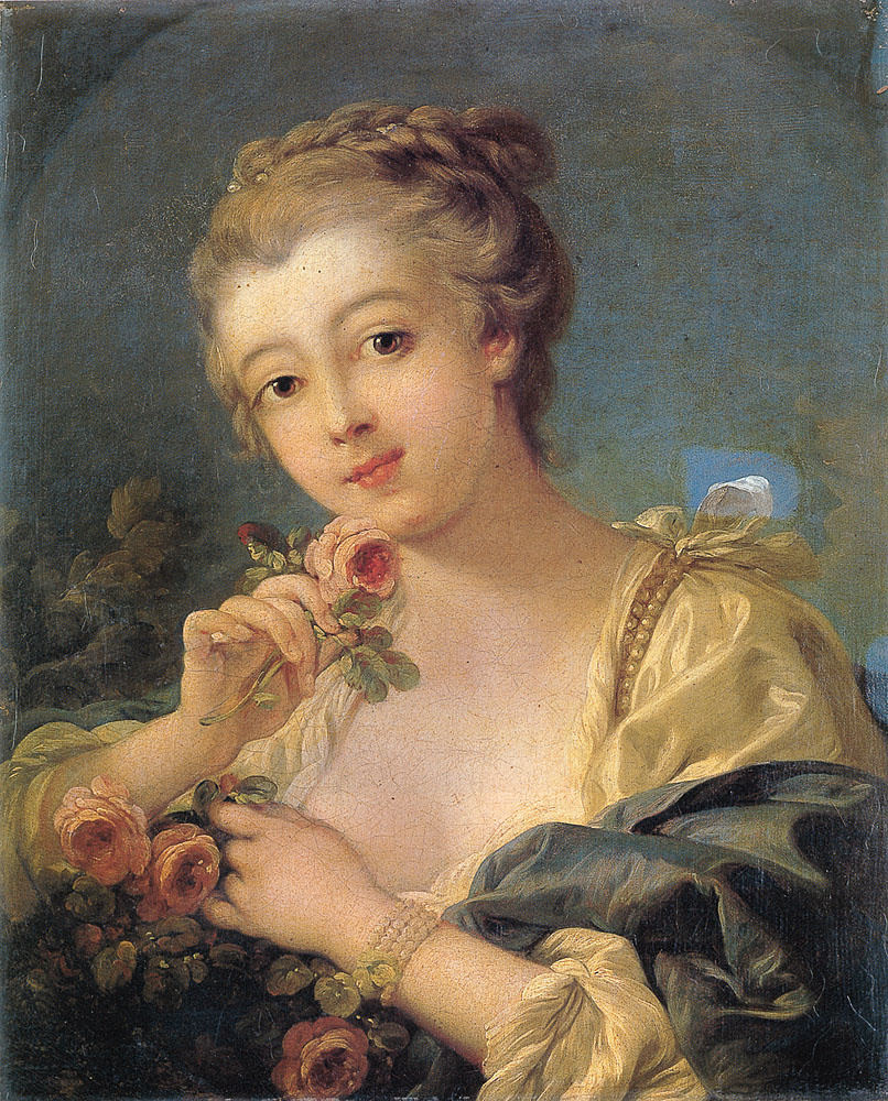 Франсуа Буше. Портрет дочери художника