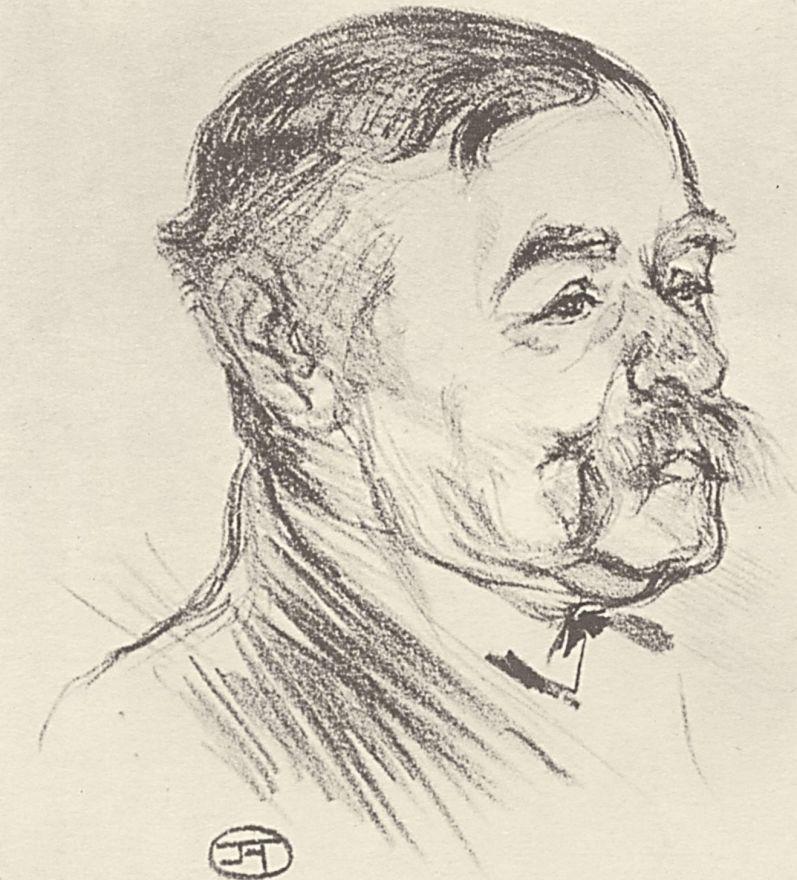Henri de Toulouse-Lautrec. Portrait Of Dio