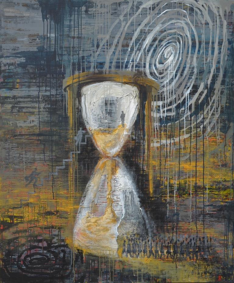 "Tanya Vasilenko. Identification. From ""Time"" artworks series"