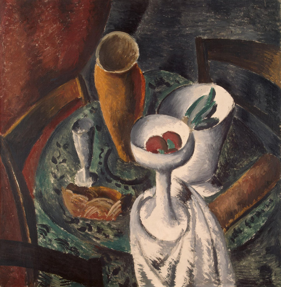 Andre Derain. Table and chairs