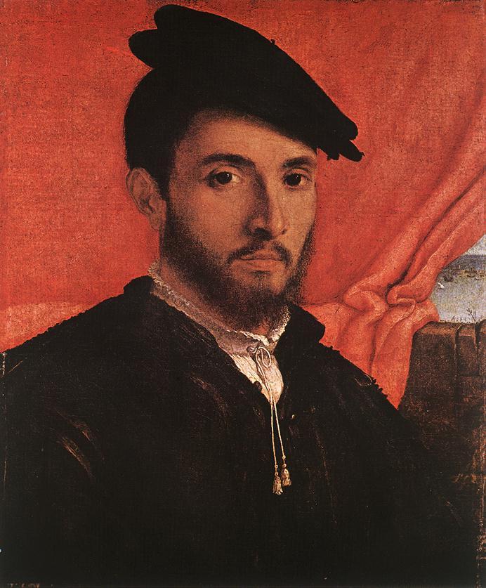 Лоренцо Лотто. Портрет молодого человека