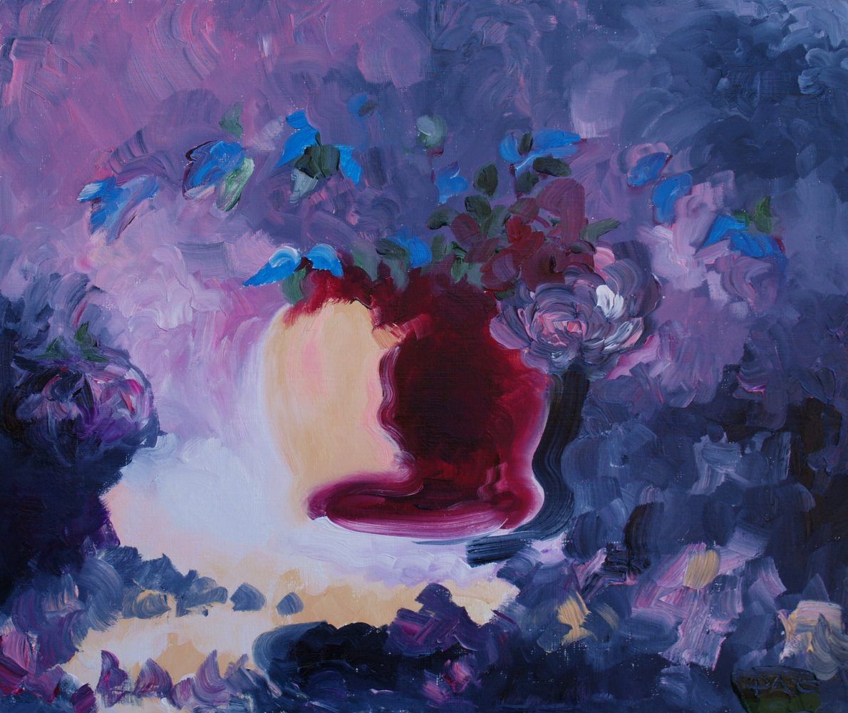 Alexander Ocher Kandinsky-DAE. Blue still life