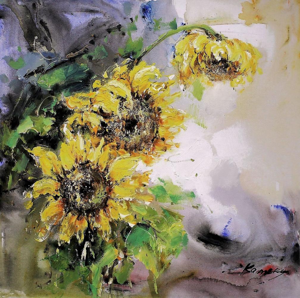 Savely Kamsky. Sunflowers N2