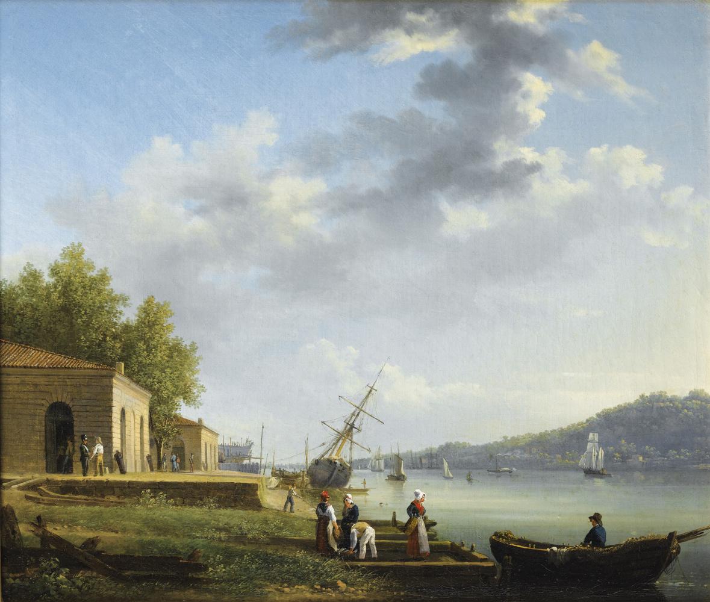 Jacques Raymond Brascassa. Pier at Bordeaux