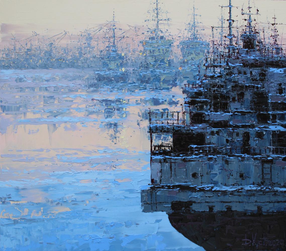 "Dmitry Alexandrovich Kustanovich. From the ""Port"" series"