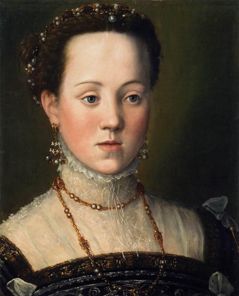 Джузеппе Арчимбольдо. Эрцгерцогиня Анна, дочь императора Максимилиана II