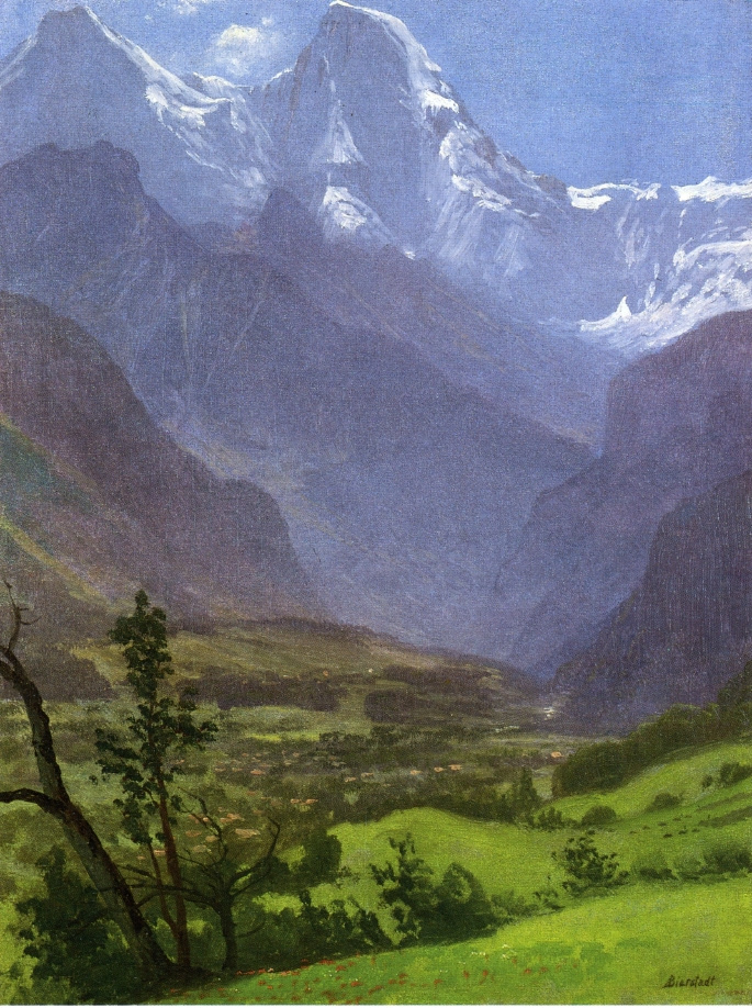 Альберт Бирштадт. Твин Пикс, Скалистые горы
