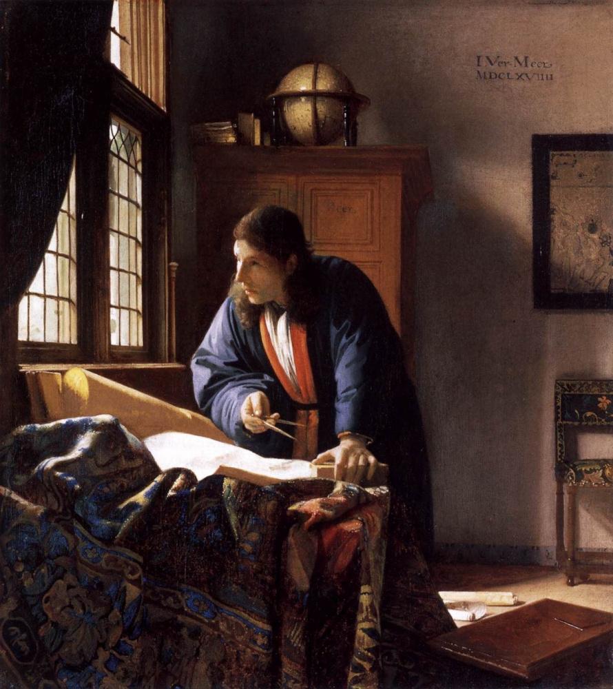 Jan Vermeer. Geographer