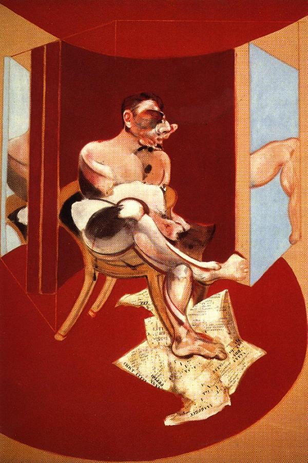 Фрэнсис Бэкон. Эскиз портрета Джорджа Дайера