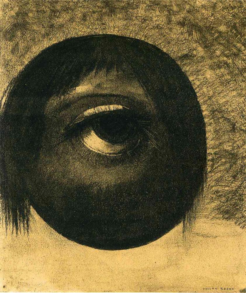 Одилон Редон. Глаз (Видение)