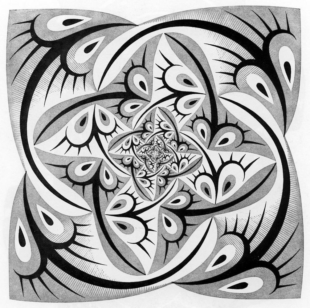 Maurits Cornelis Escher. Path of Life 2