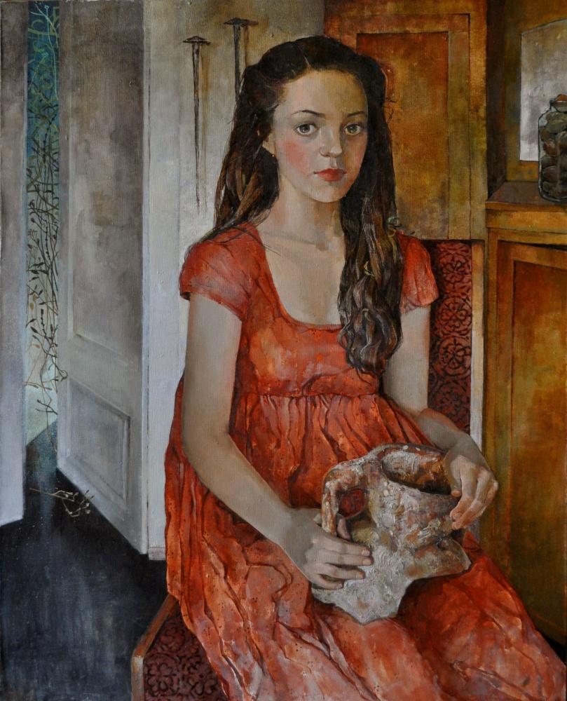 Polina Kuznetsova. Девочка у открытой двери