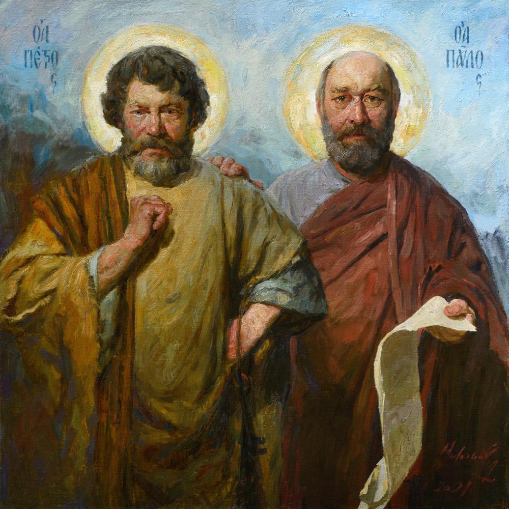 Andrey Nikolaevich Mironov. Апостолы Пётр и Павел