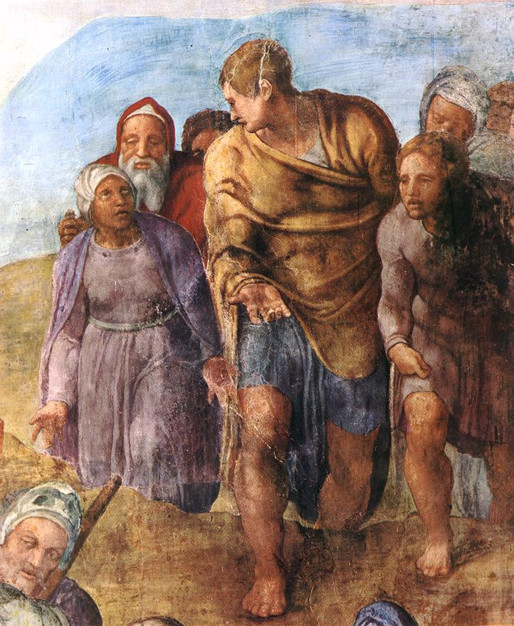 Микеланджело Буонарроти. Мученичество Св. Петра