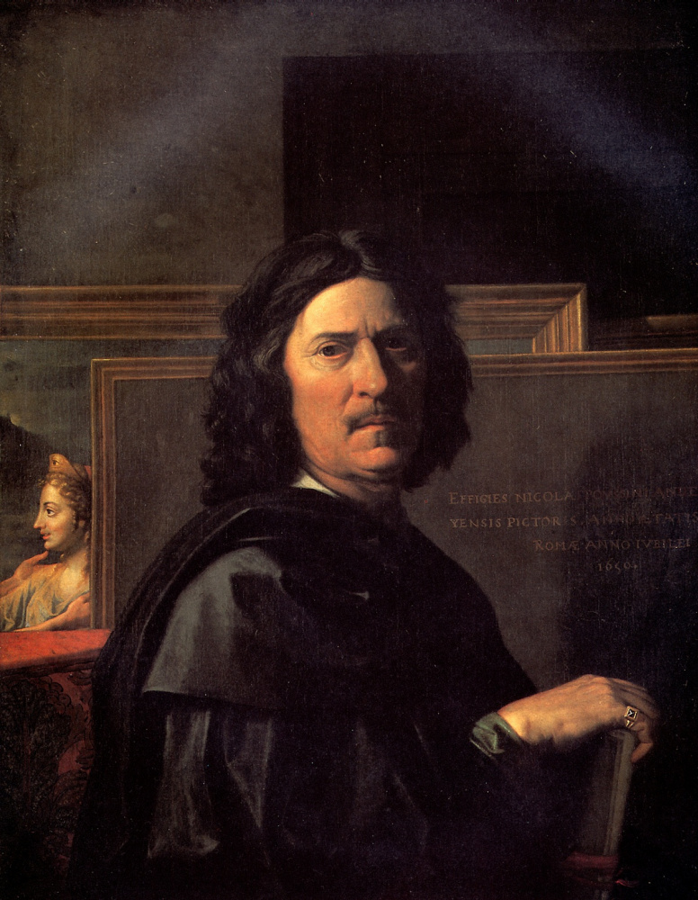 Nicolas Poussin. Self-portrait