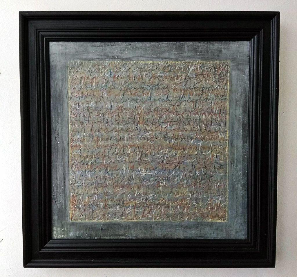 Roman Molvo. Automatic writing No. 2