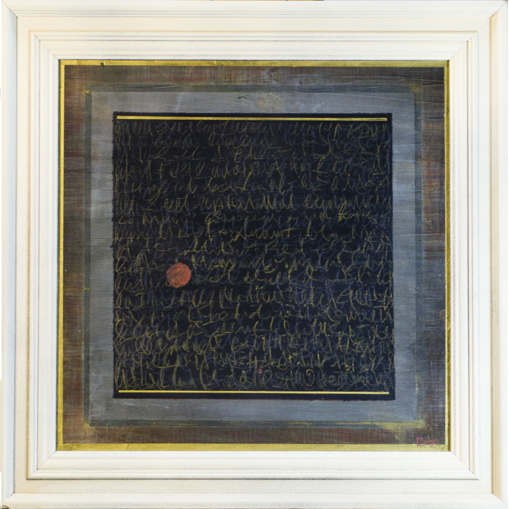 Roman Molvo. Automatic writing № 4