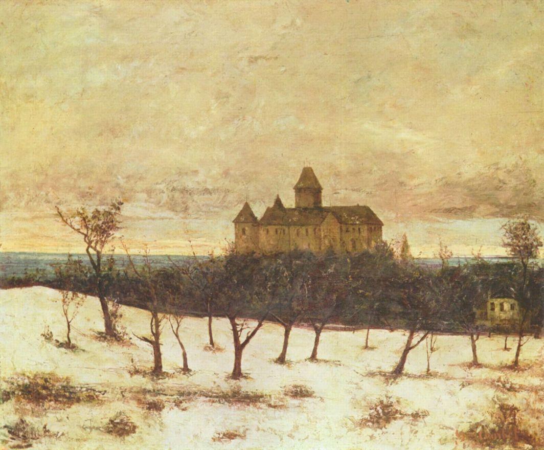Gustave Courbet. Lake Neuburg