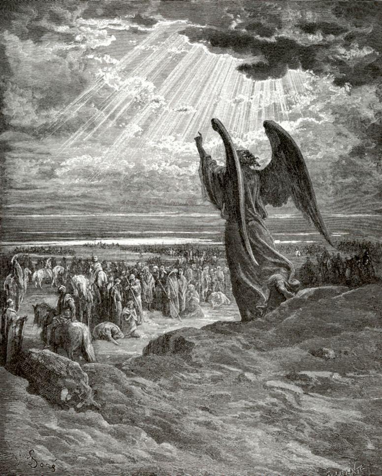 Поль Гюстав Доре. Явление Ангела