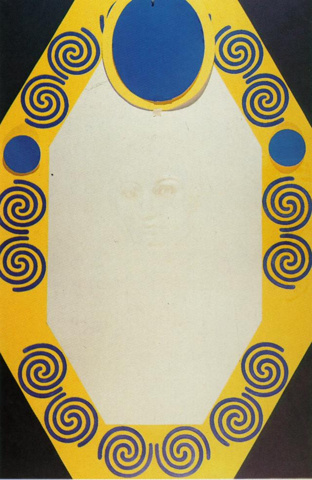Salvador Dali. The phosphene