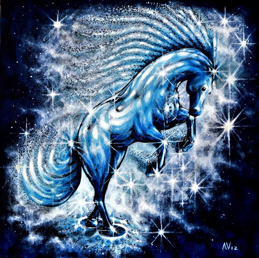 Alex Visiroff. Galactic horse