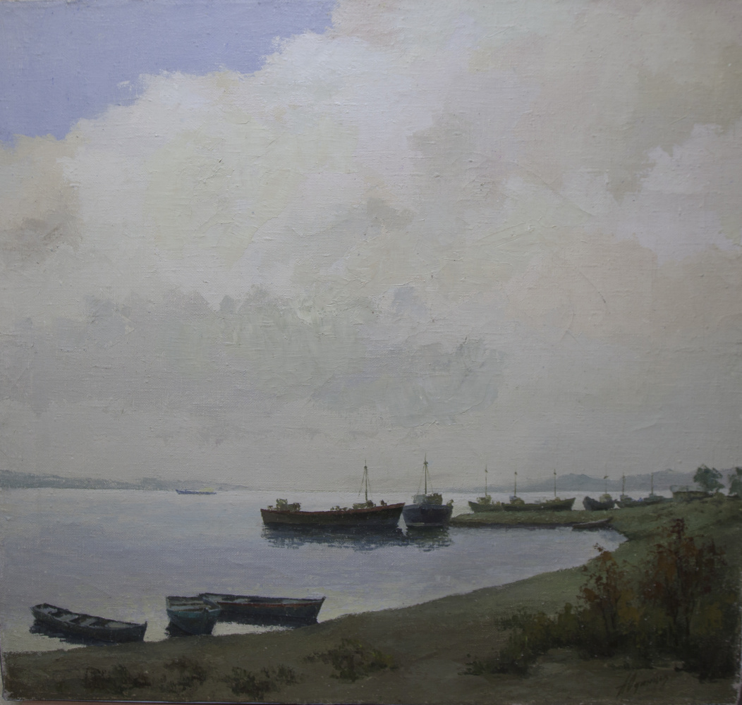 Alexander Vasilievich Yudintsev. On the Volga