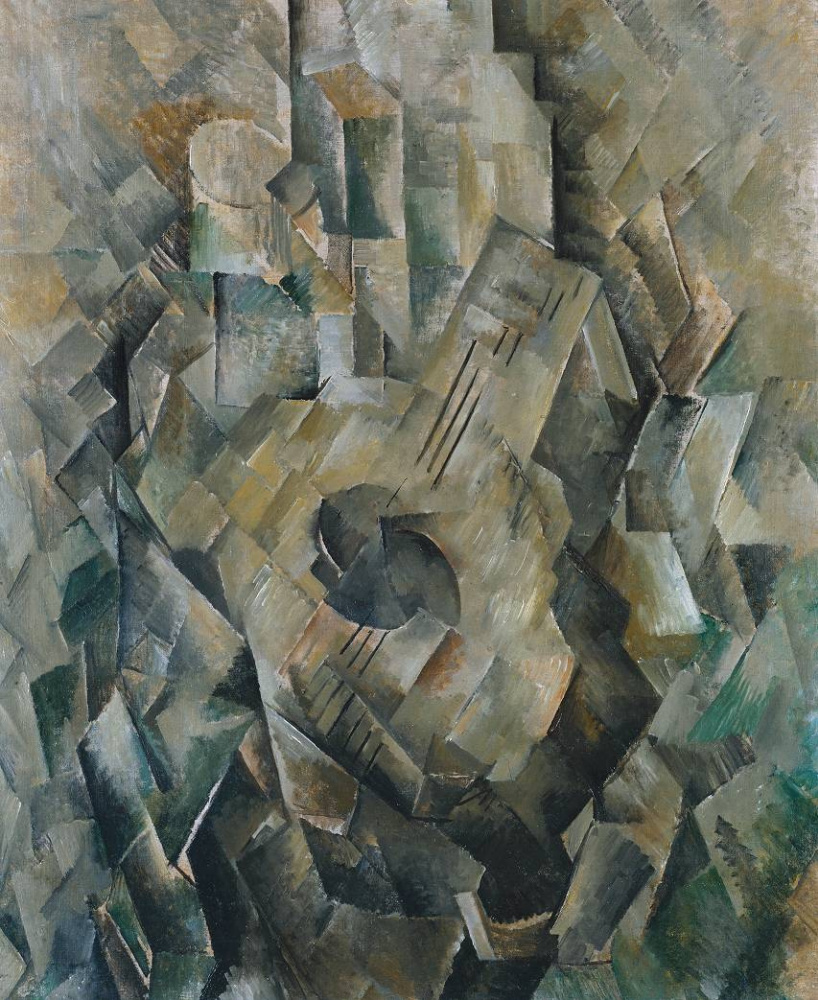 Georges Braque. Guitar